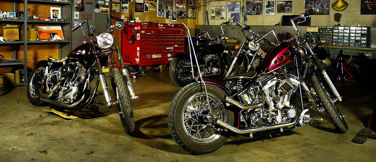 Custom Motorcycle Shop in Des Moines Iowa